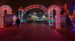 Drive Or Walk Through 10 Million Holiday Lights At Lafreniere Park In Louisiana