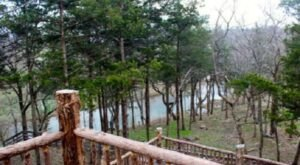Wake Up To Beautiful Views Of The Pomme De Terre River In Missouri At This Rustic Cabin In Missouri
