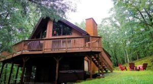 Soak In A Hot Tub Surrounded By Natural Beauty At These 5 Cabins In Pennsylvania