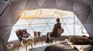 These Geo-Domes In Wisconsin Offer A Strikingly Modern Alternative To Glamping