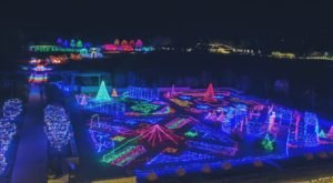 Start A New Holiday Tradition With A Stroll Through 25 Acres Of Holiday Lights At The Festival Of Lights In Missouri