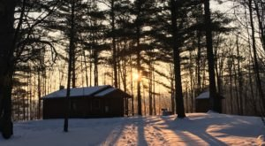 Rifle River Recreation Area Is Michigan's Best Spot For Cold-Weather Camping