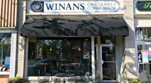 Indulge In The Best Of Both Worlds At Winans Chocolates + Coffees In Small Town Ohio