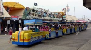 See The Charming Town Of Wildwood In New Jersey Like Never Before On This Delightful Tram