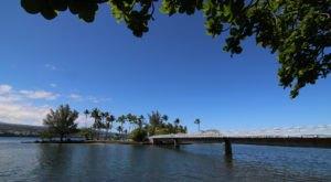 Walk Across A Fairytale Footbridge To Hawaii's Tiny Coconut Island