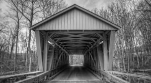 One Of The Most Haunted Bridges In Maryland, Jericho Covered Bridge Has Been Around Since 1865