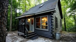 You'll Have A Front Row View Of The Illinois Shawnee Forest In These Cozy Cabins
