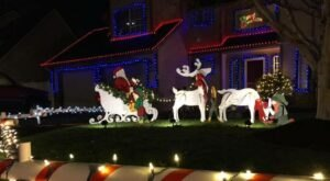 The Keizer Miracle Of Christmas Lights Are A Neighborhood Tradition In Oregon