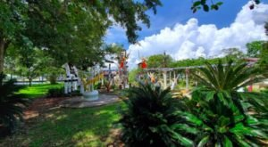 The Unique Day Trip To The Chauvin Sculpture Garden In Louisiana Is A Must-Do