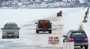 This Winter, Drive Across Frozen Lake Superior By Taking The Famous Ice Road In Wisconsin
