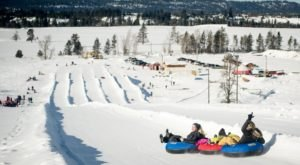 The Activity Barn In McCall, Idaho Is An All-In-One Destination For All Of Your Favorite Winter Activities