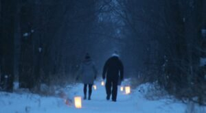 Start Off 2021 With A Lantern-Lit First Day Hike In North Dakota's Fort Stevenson State Park