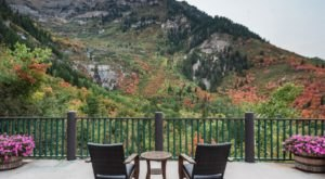 Stay In A Charming Utah Cottage With Its Own Private Series Of Waterfalls