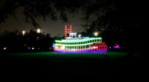Even The Grinch Would Marvel At The Christmas Light Display At City Park In Louisiana