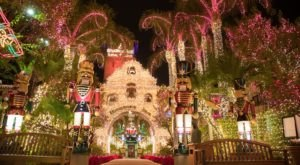 Millions Of Twinkly Holiday Lights Are All Aglow At The Spectacular Festival Of Lights In Southern California
