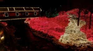 Clifton Mill, An Ohio Christmas Display Has Been Named Among The Most Beautiful In America