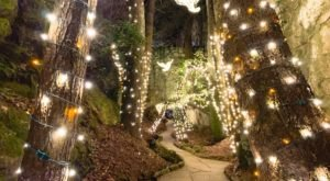 Dazzling Lights And Epic Views At Rock City's Enchanted Garden Of Lights In Tennessee Will Leave You Speechless