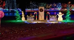 Everyone Should Take This Spectacular Holiday Trail Of Lights In Ohio This Season