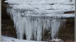 A Trip To Hickory Canyons Waterfall When Missouri Has Frozen Over Is Positively Surreal