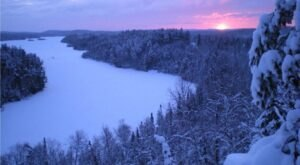 Minnesota's Boundary Waters Look Even More Spectacular In the Winter