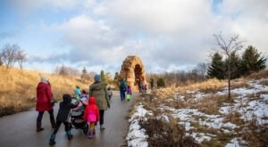 Frederik Meijer Gardens And Sculpture Park In Michigan Is Just As Fun To Explore During Winter Months