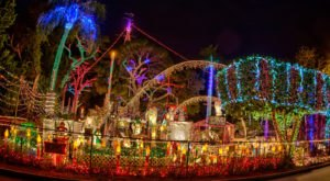 The Oakdale Christmas House, A Florida Christmas Display Is Among The Most Beautiful In The Country