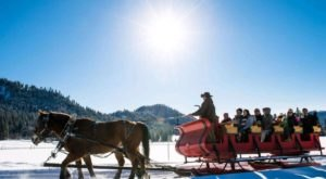 See The Charming Town Of Leavenworth In Washington Like Never Before On This Delightful Sleigh Ride