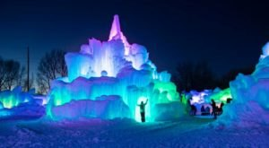 The LaBelle Lake Ice Palace In Idaho Is Positively Enchanting