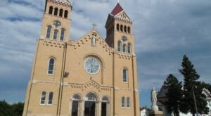 St. Bonaventure Church Is A Pretty Place Of Worship In Nebraska