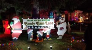 No Other Residential Display Comes Close To Candy Cane Lane In Wisconsin