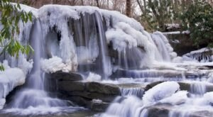 The Frozen Waterfalls At Ohiopyle State Park In Pennsylvania Are A Must-See This Winter