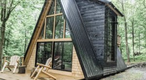 Make This Beautiful A-Frame Near Adirondack Park Your New York Holiday Getaway