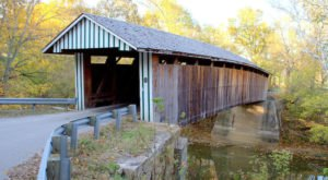 One Of The Most Haunted Bridges In Kentucky, Colville Covered Bridge Has Been Around Since 1877
