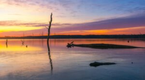 The Sunrises At Manasquan Reservoir In New Jersey Are Worth Waking Up Early For
