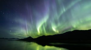 The Northern Lights May Be Visible Over Southern Alaska This Week Due To A Solar Storm