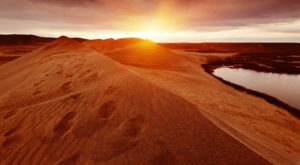 Explore The Tallest Single-Structured Sand Dune In North America At Bruneau Dunes In Idaho