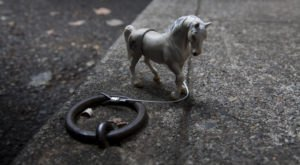 The Historic Horse Rings In Portland Are One Of Oregon's Most Charming Quirks