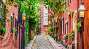 The Most Photographed Street In America Is Acorn Street In Massachusetts