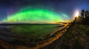 The Northern Lights May Be Visible Over Michigan This Week Due To A Solar Storm