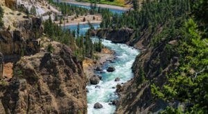 The Mighty Snake River Is Idaho's Longest, Traveling 1,078 Miles To The Columbia River