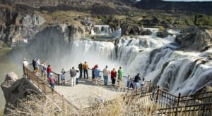 Shoshone Falls In Idaho Was Just Named One Of The Most Underrated Views In The U.S.