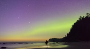 The Northern Lights May Be Visible Over Washington This Week Due To A Solar Storm