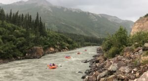 Experience Denali National Park Like Never Before With A New Wave Adventures Rafting Tour In Alaska