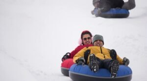 The Longest Snow Tubing Run In New York Can Be Found At Maple Ridge Center