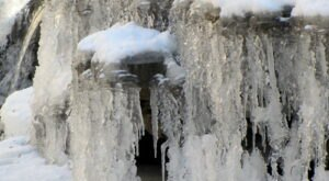 The Frozen Waterfalls At McCormick's Creek State Park In Indiana Are A Must-See This Winter