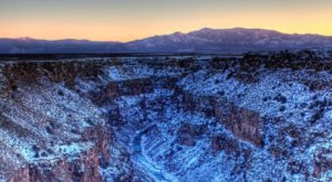 New Mexico's Grand Canyon Looks Even More Spectacular In The Winter