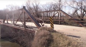 One Of The Most Haunted Bridges In Nebraska, The Spring Ranch Bridge, Has Been Around Since The 1870s
