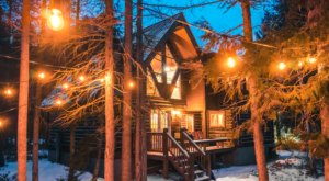 This Secluded Montana Cabin Will Make Winter Your Favorite Season