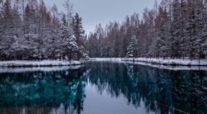 Michigan's Most Magical Natural Spring, Kitch-Iti-Kipi, Is Enchanting In The Winter