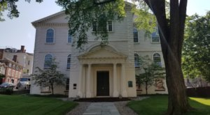 This Baptist Church In Rhode Island Is Older Than America Itself